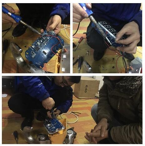電子吊鉤秤維修現場