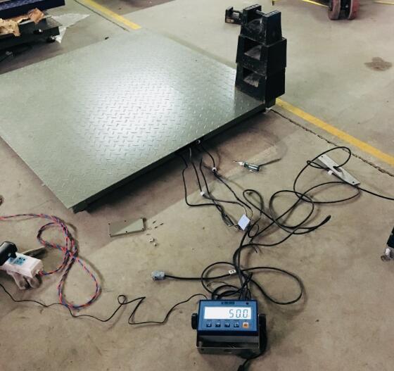 狄纳乔3590EGT触摸屏控制仪表接电子地磅自动调角差