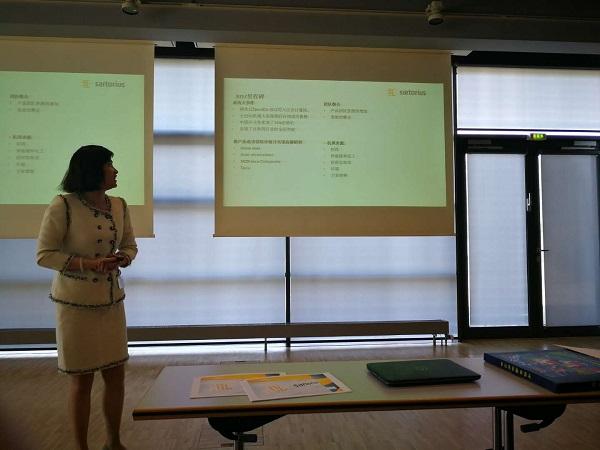 赛多利斯大中华区销售、市场及服务总监 卢莉琼