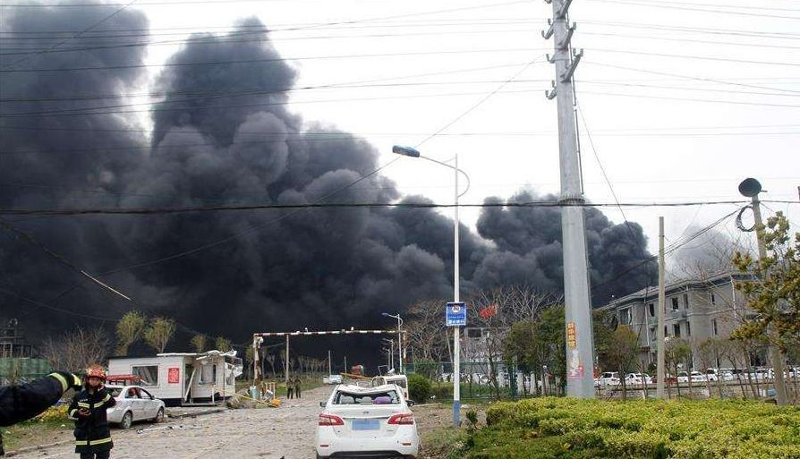 江蘇鹽城化工廠爆炸