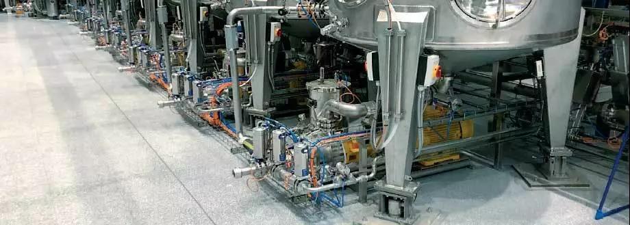 茵泰科高精度傳感器在水性涂料工廠稱重的應用方案分享