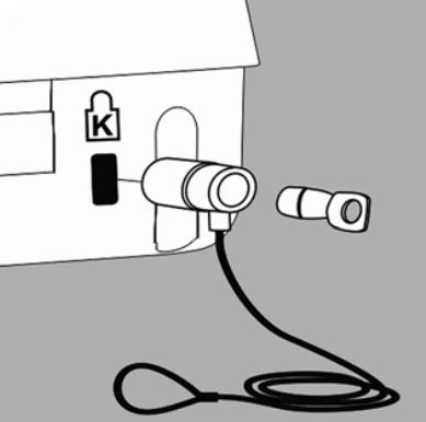 防盗锁定装置